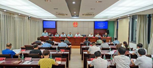 县第十七届人大常委会第三十七次会议召开